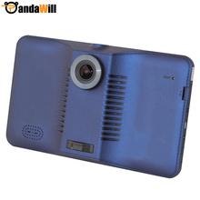 7 дюймов android-автомобильный FHD 1080 P автомобильные видеорегистраторы видеокамера 160 град. автомобильный GPS навигации планшет пк построен в 8 ГБ WIFI FM