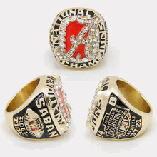 New Nick Saban Alabama Replica 2009 National Championship Ring Size 11(China (Mainland))