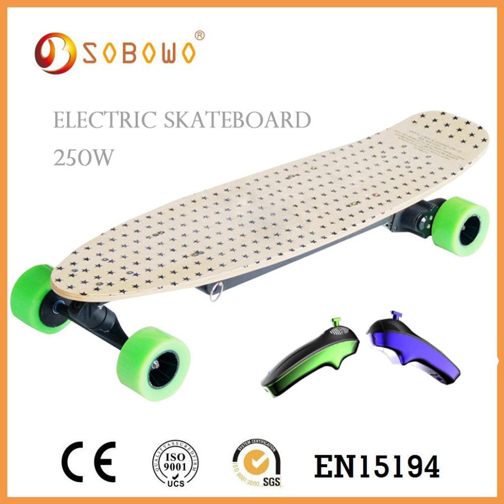 250W Brushless motor Skate Board/ Sport Cool Electric skateboard(China (Mainland))