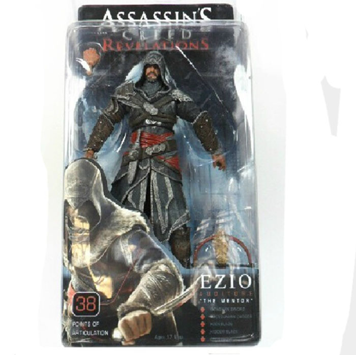 2015 New Action figure 15cm Assassins Creed Assassins game doll Edward Canvey Cosplay New in Orginal Box <br><br>Aliexpress