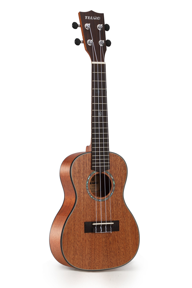 Electric Ukulele Concert Veneer Solid Mahogany EQ Ukulele Guitar 23 Tauro TR-52CM Ukelele Stringed Instrument(China (Mainland))