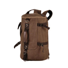 2016 out canvas men travel bags top handle duffle bag vintage women travel backpack casual men hand bag sac de voyage 681t(China (Mainland))