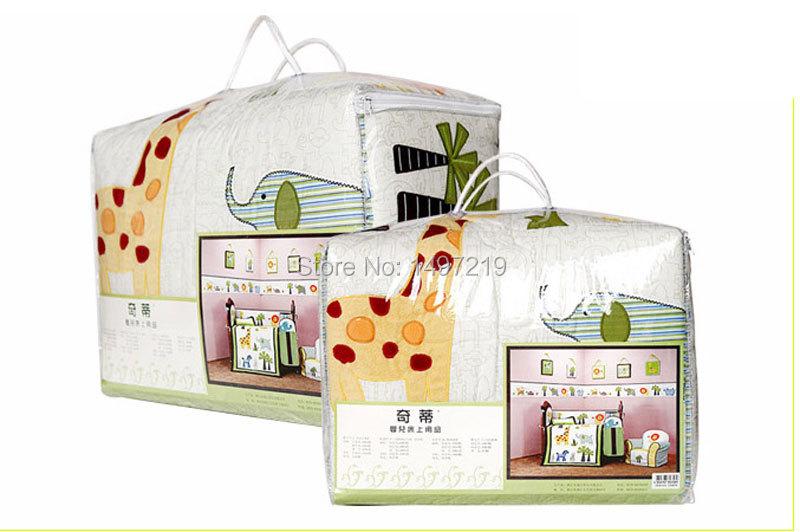 PH034 crib child bedding set  (2)