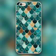REALLY MERMAID Design black skin case cover cell mobile phone cases for Apple iphone 4 4s 5 5c 5s 6 6s 6plus hard shell