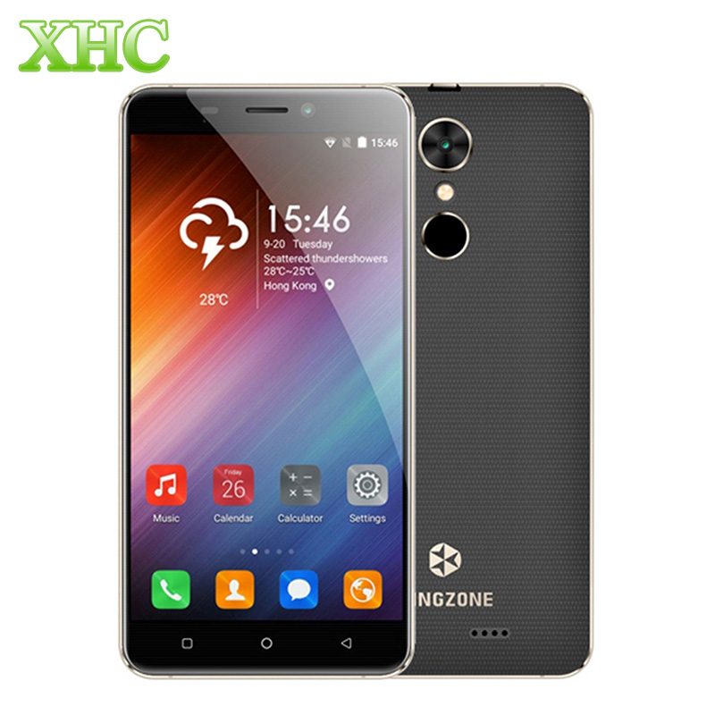 KINGZONE S3 WCDMA 3G 16GB Smartphone 5.0 inch KOS 1.2 (Android 6.0) MTK6580A Quad Core 1.3GHz Fingerprint 2600mAh Mobile Phone