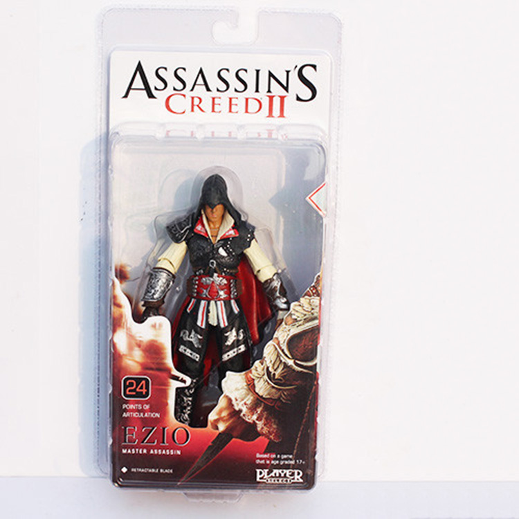 NECA Assassin Creed II Ezio Master Assassin 718cm PVC Model Toys Figure Collection Gifts for children Free Shipping<br><br>Aliexpress