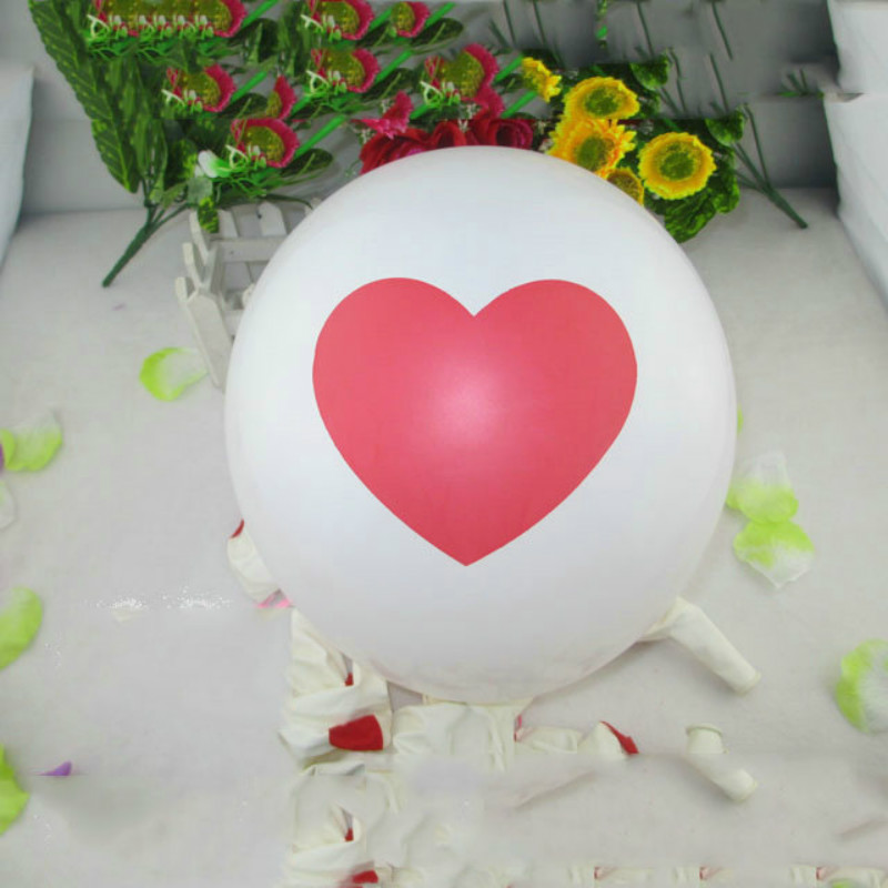 10pcs/lot 2016 New Romantic Wedding Decoration 12inch Love-Heart Pearl Balloons For Birthday Wedding Party Supplies 6ZJS005-10(China (Mainland))