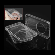 Hard Clear Crystal Case Cover For iPod Classic 80GB 120GB 160GB with Full Body Protective Film(China (Mainland))