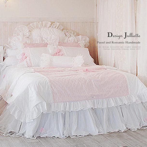Housse De Couette Romantique Rose