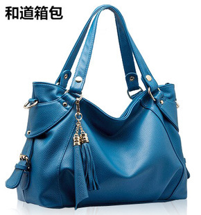 New Fashion 2014 Hot Brand genuine leather bag high quality women handbag Fast delivery bags Free Shipping