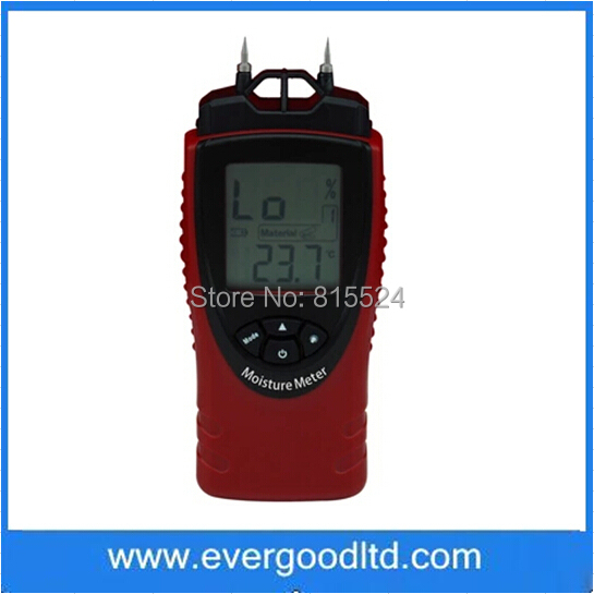 ST8040 Digital Wood Moisture Meter Wood Humidity Sawn Timber Hardened Materials Ambient Temperature Moisture Tester(China (Mainland))