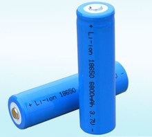 4 PCS Li-ion 6800mAh 3.7V Rechargeable Battery 18650 for LED Torch Flashlight Brand New