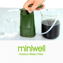 Miniwell Outdoor Sport Pumping Water Filter Survival Adventures Gear Emergency Rescue
