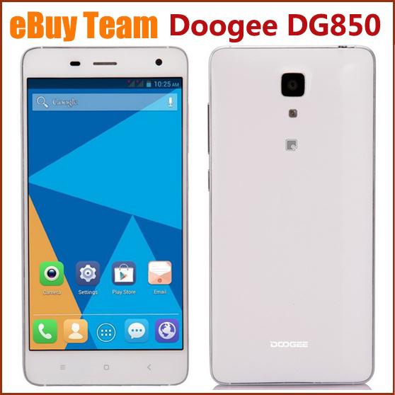 Мобильный телефон Doogee DG850 MTK6582 Quad Core WCDMA GPS 5,0 HD IPS 4.4 1 16 13 doogee valencia dg800 quad core android 4 4 2 bar phone w 4 5 ips back touch gps ota orange