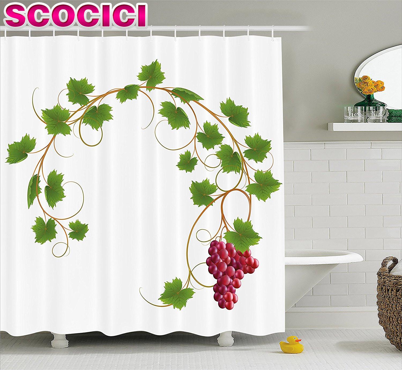 Online Get Cheap Grape Kitchen Curtains -Aliexpress.com