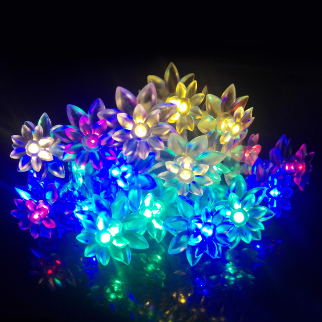 Cheap holiday lighting 2m 20leds battery operated fairy lights holiday lighting 2m 20leds battery operated fairy lights lotus flower led string light for garland christmas junglespirit Images