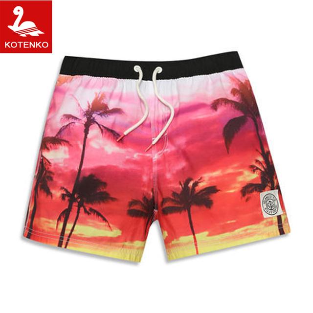 2016 Новых Людей пляж шорты плавки марка мужчины купальники купальники surf playa ...