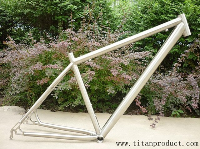 29er Titanium MTB Frame in Top Quality