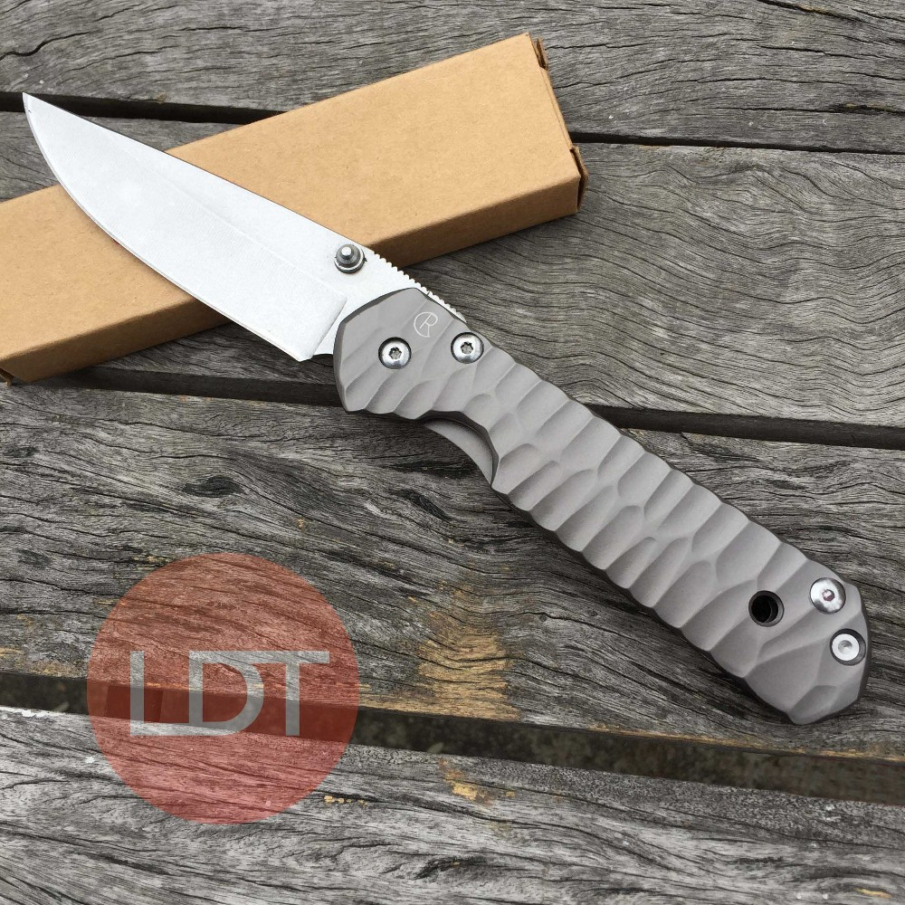 Buy LDT Sebenza Tactical Folding Blade Knife 440 Blade Steel Handle Utility Pocket Tools OEM Camping Hunting Outdoor Survival Knives cheap