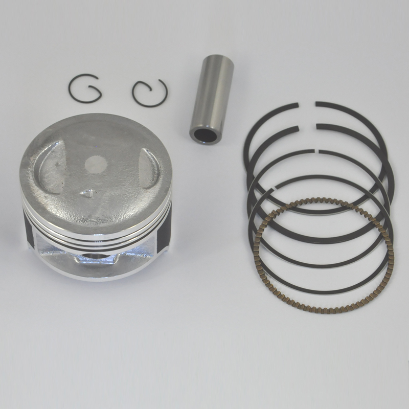 Motorcycle Engine Parts Std Cylinder Bore Size 55mm: High Performance Motorcycle Piston Kit Rings Set For