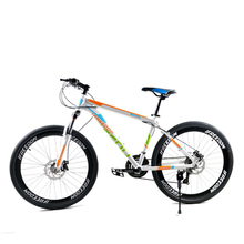 Mountain bike 21 speed dual disc brakes 26 inch variable speed drive Bicycle male and female students cycling Bicycle 5839(China (Mainland))