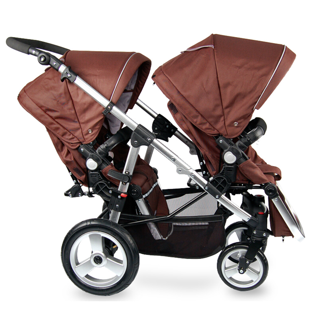 Folding Twins Baby Stroller Light Weight Portable European Baby Carriage Double Directions Travel Pram<br><br>Aliexpress