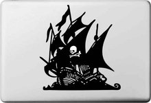 Cool Pirate Boat Sticker for Macbook Air 11 12 13 Pro 13 15 17 Retina Laptop Car Sticker Versatile Decal Skins Vinyl Pegatinas(China (Mainland))