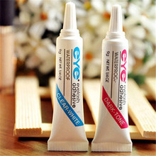 Ladied Useful Black Fake Eyelash Glue Profesional Make Up Tool Free Shipping(China (Mainland))