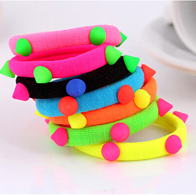 1 PCS Fashion Hair Accessories Elastic Hair Bands for Women Candy Color baby girl kids headbands hair ropes head wear(China (Mainland))