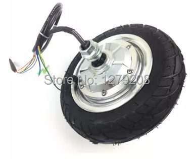 36V 350W 8 inches 1200RPM wheel motor ,brushless Non-gear hub motor with Vacuum tire(China (Mainland))