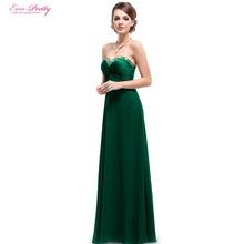 Abendkleider immer ziemlich HE09568 Strass Rüschen Kristall Perlen 2016 neue Ankunft Vestido Sommer Stil Abendkleider(China (Mainland))