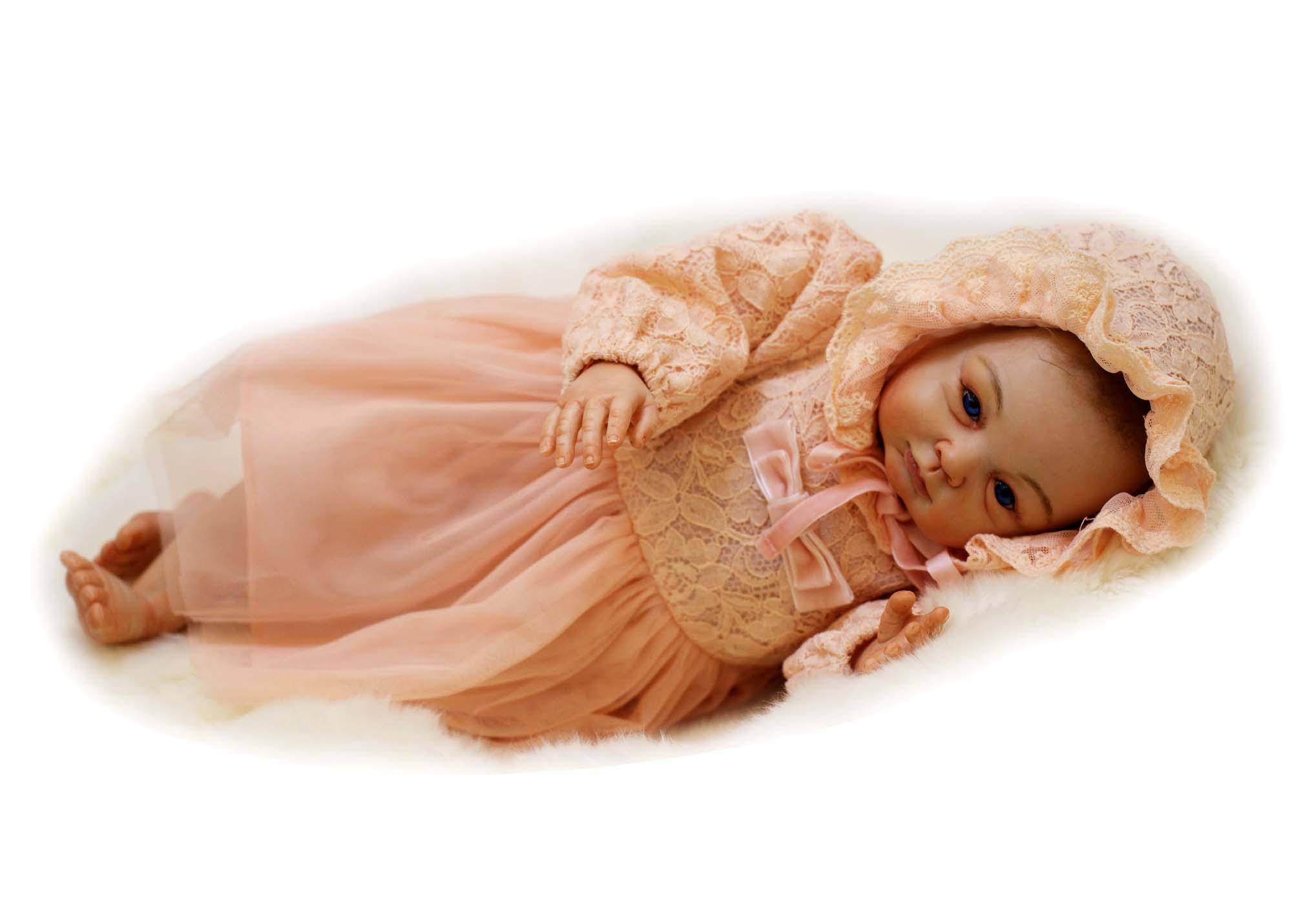 54cm Hand Printed Baby Dolls Reborn Babe Doll Kid's Toys Soft Girl Princess Brinquedos Nurse Education Doll Christmas Gifts(China (Mainland))