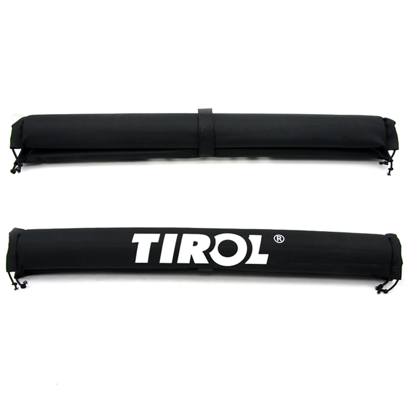 2PCS Oxford Pair of Car Roof Rack Pads Inflatable Padded Crossbar Roof Cov Black ME3L(China (Mainland))