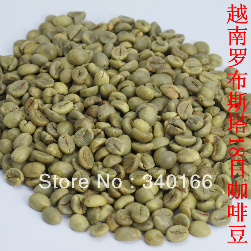Free Shipping 18 liffe robusta coffee beans the first grade coffee beans 1000g