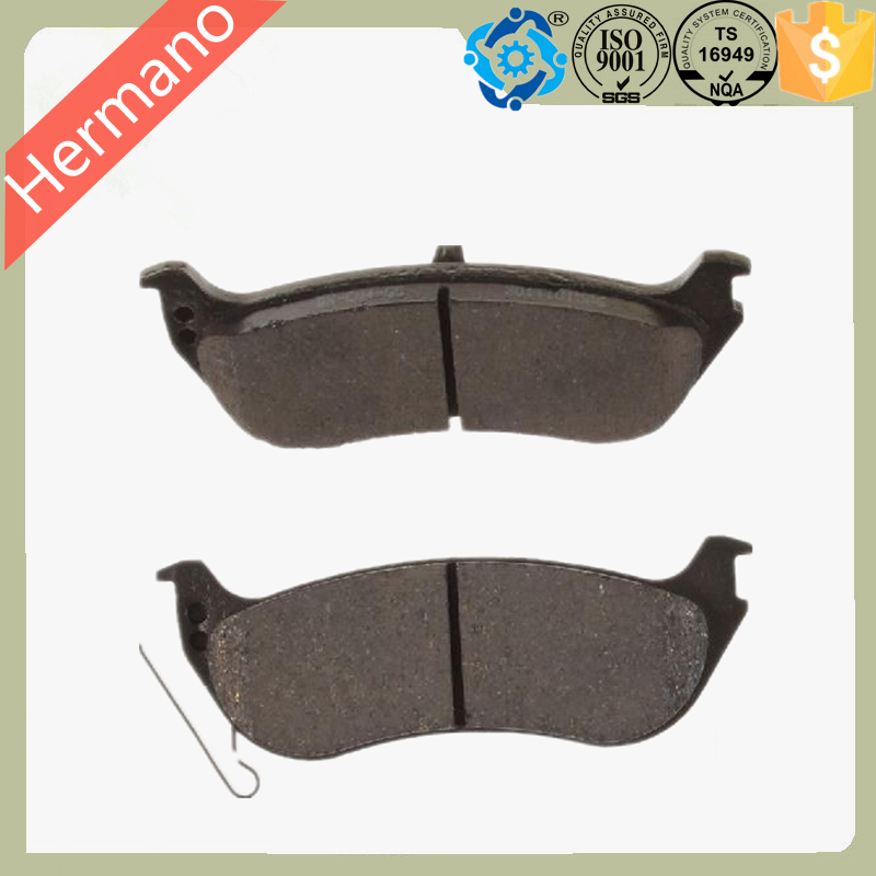 D881 Hermano Top Quality Original car rear brake pads for FORD(China (Mainland))