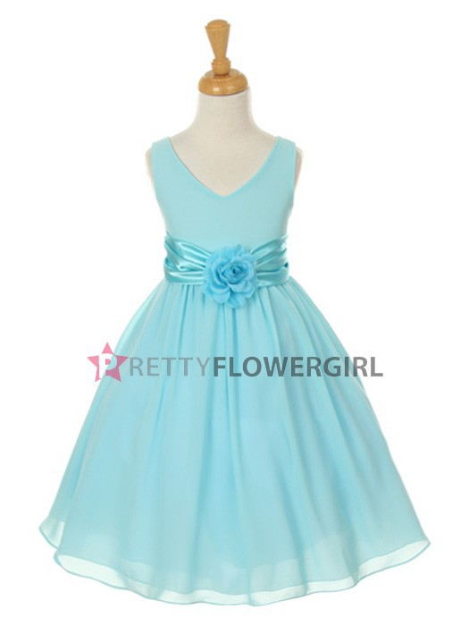 Free shipping A-Line Organza+Lace round neck High Quality Flower Girl dresses any color size wholesale/retail<br><br>Aliexpress