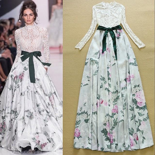 Maxi dress designs of frocks