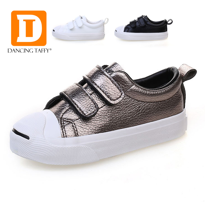 New PU Leather Rubber Children Shoes Autumn Spring Solid Hook Loop Casual Kids Shoes Unisex School Student Boys Girls Sneakers(China (Mainland))