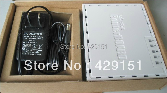 Mikrotik 750GL Gigabit L4 Wired Router Bridge Repeater Better than 750G support POE Power Supply Free shipping(China (Mainland))