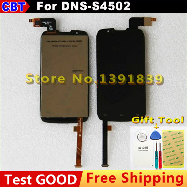 100% New Original DNS S4502 m IPS LCD Display + Touch Screen digitizer For DNS-S4502 Highscreen boost Cloudfone Thrill430X(China (Mainland))