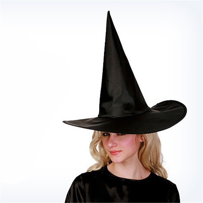Creative Halloween Party Supplies Witch Hats Halloween Wizard Witcher Caps Party Toys Cosplay(China (Mainland))