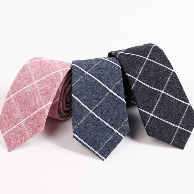 mantieqingway s suit tie classic s plaid necktie