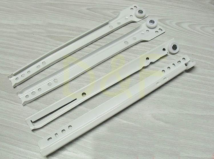 12'' Furniture Hardware Drawer Slider Track New Rail Cabinet Slide Rail Ordinary Muffler(China (Mainland))