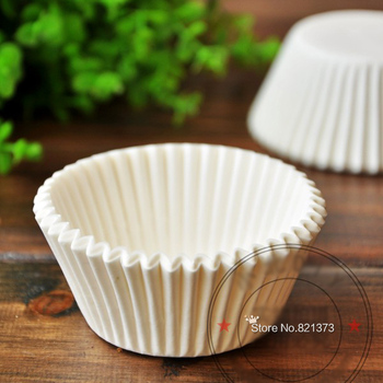 Free Shipping cheap mini muffin white paper cake cup cupcake liners for wedding party decoration greaseproof cups stand supplies