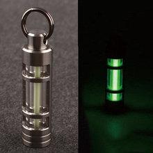 Titan Tritium Fluoreszenz wachsen Sticks Licht selbst Beleuchtung autoluminescence 25 Jahre grün(China (Mainland))