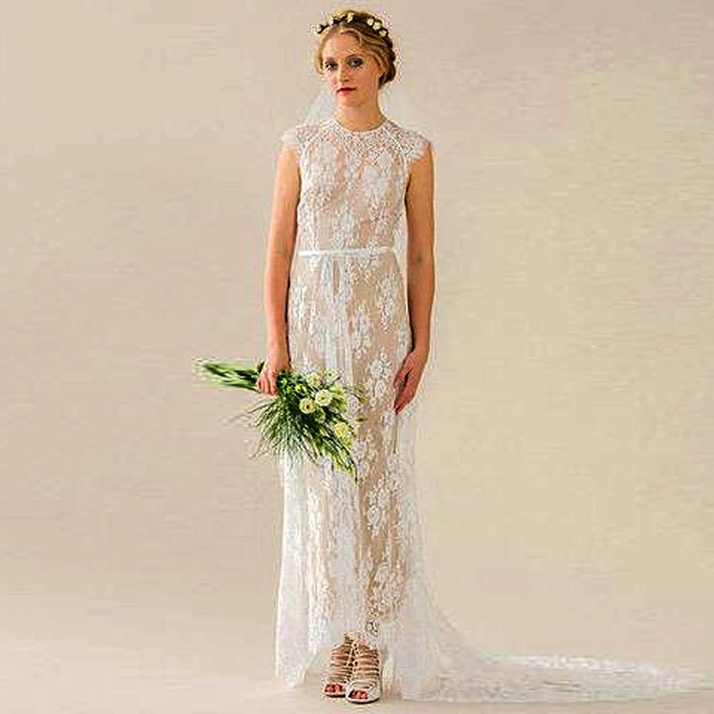 Online get cheap bridal illusion fabric for Vintage summer wedding dresses