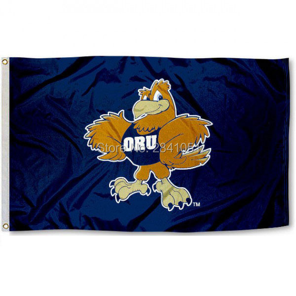 Oral Roberts Eagles Team College American Outdoor Indoor Football College Flag 3X5 Custom Any Flag(China (Mainland))