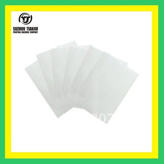 TJ  Wholesale Transparency Film for Making Screen Alate A4 100sheet/pack