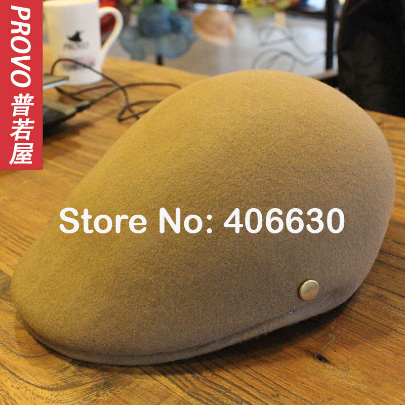 winter wool beret hats for men french beret hats felt Gatsby newsboy hats Cabbie Flat Cap free shipping(China (Mainland))