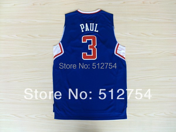 #3 Chris Paul Jersey,New Material Rev 30 Basketball jersey,Best quality,Authentic Jersey,Size S--XXXL,Accept Mix Order(China (Mainland))